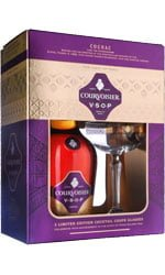 Courvoisier - VSOP Coupe Glass Pack  70cl Bottle