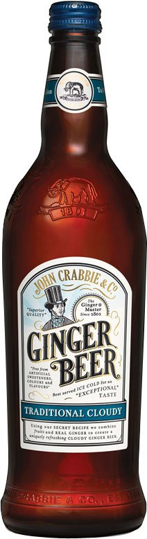 Crabbies - Alcoholic Ginger Beer 12x 500ml Bottles