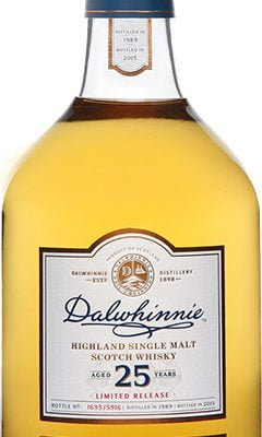 Dalwhinnie - 25 year Old 1989 70cl Bottle