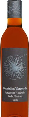 Dandelion Vineyards - Legacy of Australia Pedro Ximenez XXXO 12x 37.5cl Half Bottles