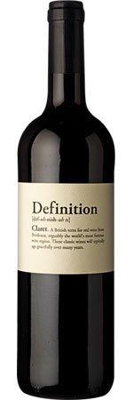 Definition Claret 2010/2012