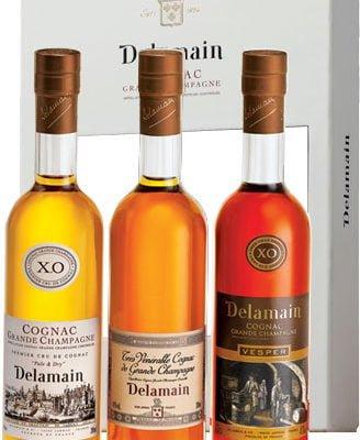Delamain - Trio Pack 3x 20cl Bottles