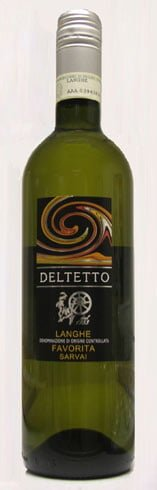 Deltetto - Langhe Favorita Servaj 2012 6x 75cl Bottles