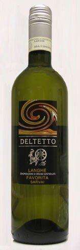 Deltetto - Langhe Favorita Servaj 2012 6x 75cl Bottles