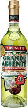 Distilleries Provence - Grande Absinthe Absente 69% 70cl Bottle
