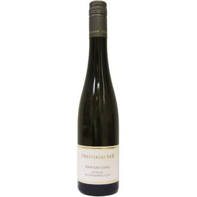 Dreissigacker - Bechtheimer Stein Riesling Auslese 2008 12x 50cl Bottles