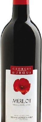 Duboeuf - Merlot Vin de Pays d'Oc 2012 75cl Bottle