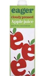 Eager Drinks - Apple Juice 1 Litre Carton