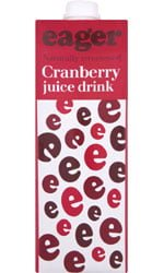 Eager Drinks - Cranberry Juice 1 Litre Carton