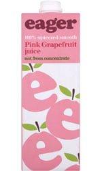 Eager Drinks - Pink Grapefruit Juice 1 Litre Carton