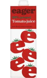 Eager Drinks - Tomato Juice 1 Litre Carton