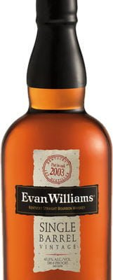 Evan Williams - 2004 Single Barrel 70cl Bottle