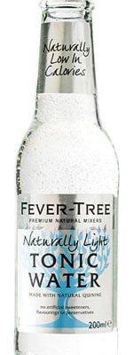 Fever-Tree Naturally Light Tonic 4 x 200ml Bottles