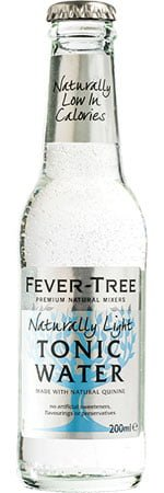 Fever-Tree Naturally Light Tonic 4 x 200ml Bottles