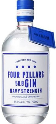 Four Pillars - Navy Strength Gin 70cl Bottle