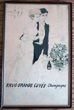 Framed Krug Poster