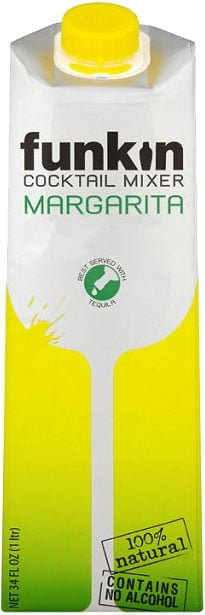 Funkin Cocktail Mixer - Margarita 1 Litre Carton