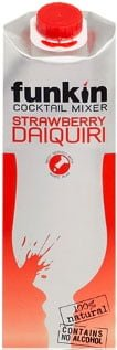 Funkin Cocktail Mixer - Strawberry Daiquiri 1 Litre Carton
