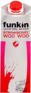 Funkin Cocktail Mixer - Strawberry Woo Woo 1 Litre Carton