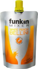 Funkin Single Serve Mixer - White Peach 120g Pouch