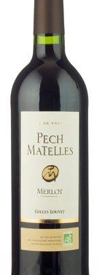 Gilles Louvet - Pech Matelles Organic Merlot IGP Pays dOc 2013 6x 75cl Bottles
