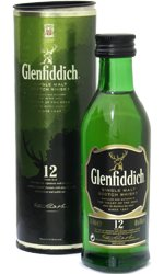 Glenfiddich - 12 Year Old Miniature 5cl Miniature