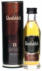 Glenfiddich - 15 Year Old Miniature 5cl Miniature