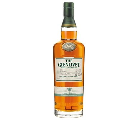 Glenlivet 14-year-old Conglass Speyside Single Malt Whisky