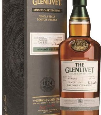 Glenlivet - Conglass Cask 41723 70cl Bottle
