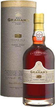 Grahams - 40 Year Old Tawny 75cl Bottle