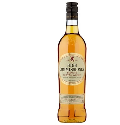 High Commissioner Scotch Whisky Blended