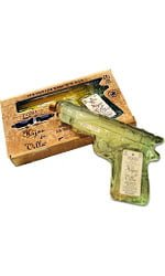 Hijos de Villa - Tequila Reposado Pistol With Glasses 200ml Bottle