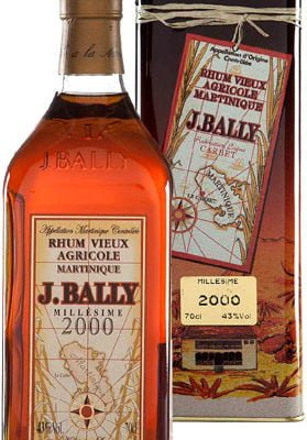 J Bally - Vintage 2000 70cl Bottle