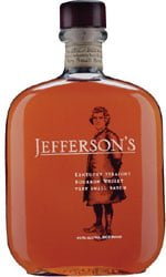 Jeffersons - Very Small Batch Bourbon 70cl Bottle