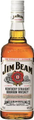 Jim Beam - White Label 70cl Bottle