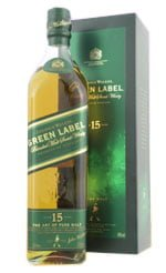Johnnie Walker - Green Label 15 Year Old 70cl Bottle