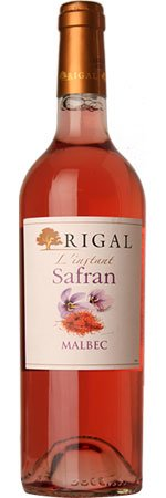 L'Instant Safran Malbec Rosé 2014