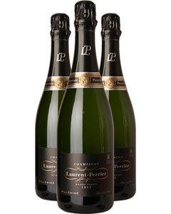 Laurent-Perrier Vintage Three Bottle Champagne Gift 3 x 75cl Bottles