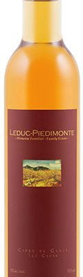 Leduc Piedimonte - Ice Cider 2010 37.5cl Bottle