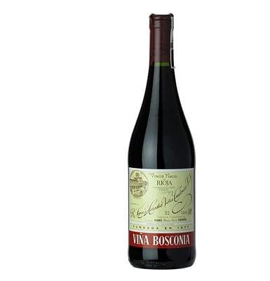 Lopez De Heredia Vina Bosconia Rioja Reserva