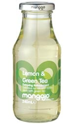 Mangajo - Lemon & Green Tea 250ml Bottle