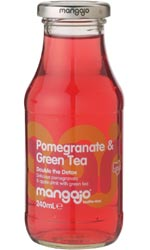 Mangajo - Pomegranate & Green Tea 250ml Bottle