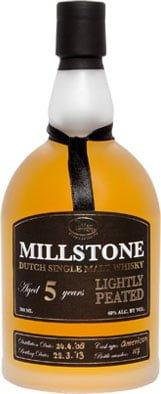Millstone Distillery - 5 Year Old Lightly Peated Dutch Single Malt 70cl Bottle