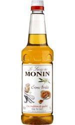 Monin - Creme Brulee 1 Litre Bottle