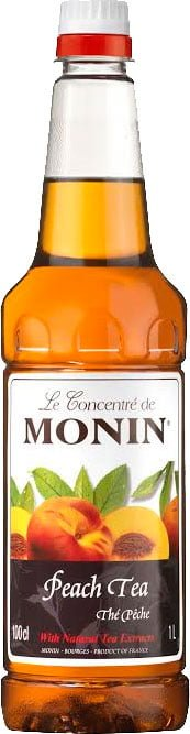 Monin - Peach Tea 1 Litre Bottle