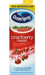 Ocean Spray - Cranberry Juice 1 Litre Carton