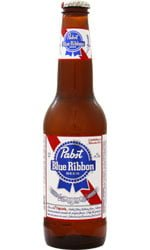 Pabst - Blue Ribbon PBR 24x 355ml Bottles
