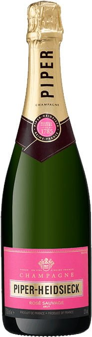 Piper Heidsieck - Brut Rose Sauvage 75cl Bottle