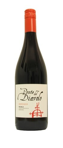 Ponte Del Diavolo - Refosco 2012 75cl Bottle