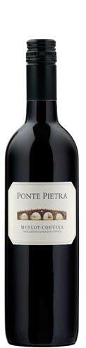 Ponte Pietra - Merlot Corvina 2014-15 75cl Bottle